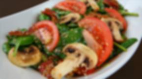 Ensalada de espinaca | Restaurante en Hermosillo | Santos Grill