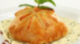 Hojaldre formaggio | Cocina de Autor en Hermosillo | Santos Grill