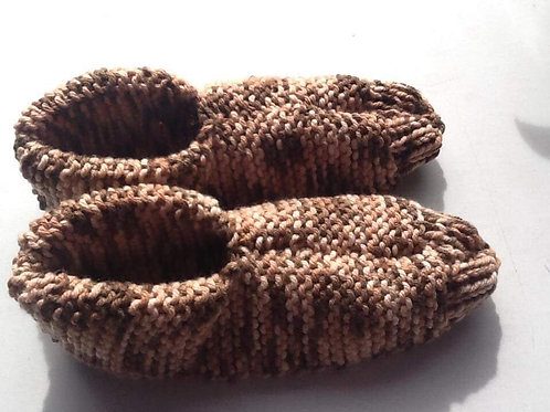 Unique New Zealand Hand Knitted Travel Slippers