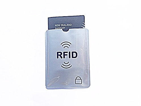 RFID BLOCKING PASSPORT PROTECTIVE SLEEVE