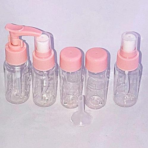 Travel bottles Set of 5