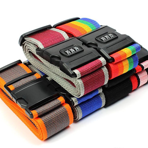TSA Approved Lockable Luggage Straps