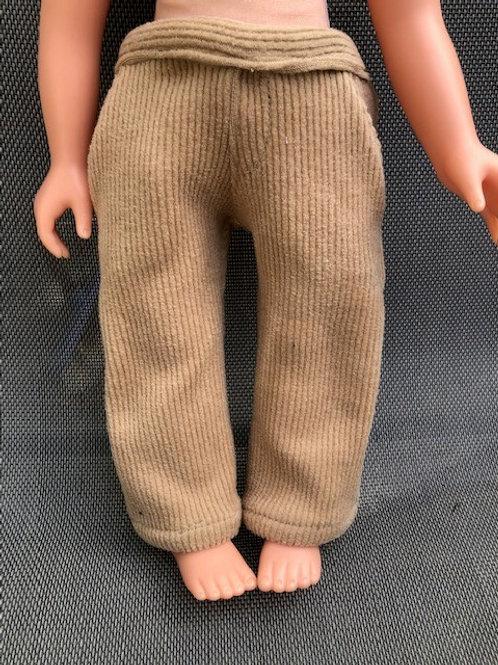 Corduroy Pants - Tan