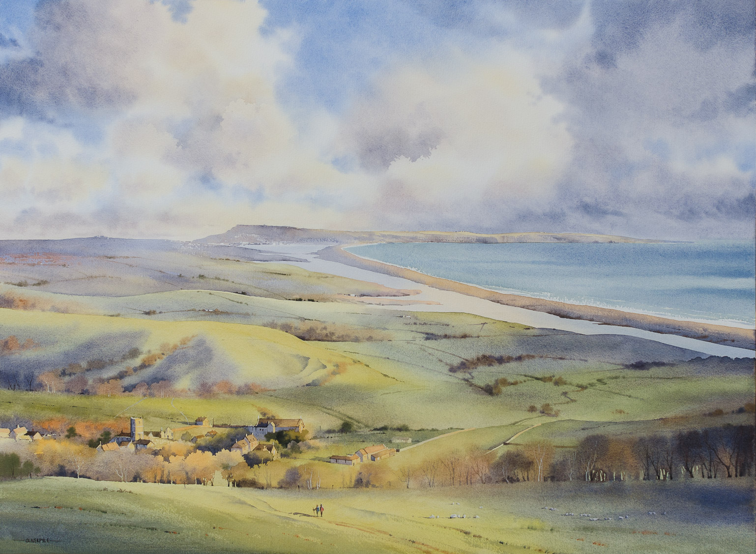 """Simply Stunning!"" - coastal views at Abbotsbury"