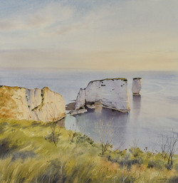 Peaceful Reflection, Old Harry Rocks