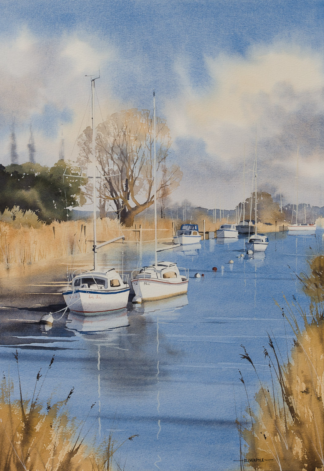 Winter Moorings, Wareham