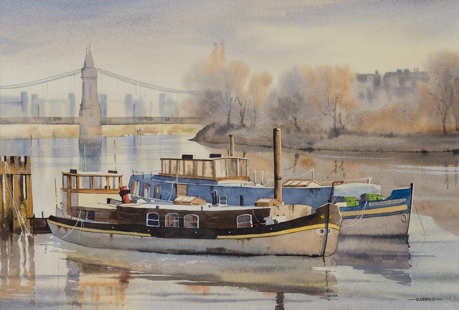 Houseboats at Hammersmith