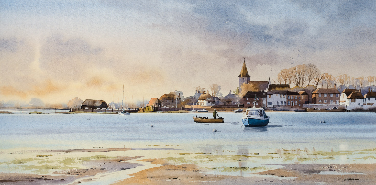 November Light at Bosham
