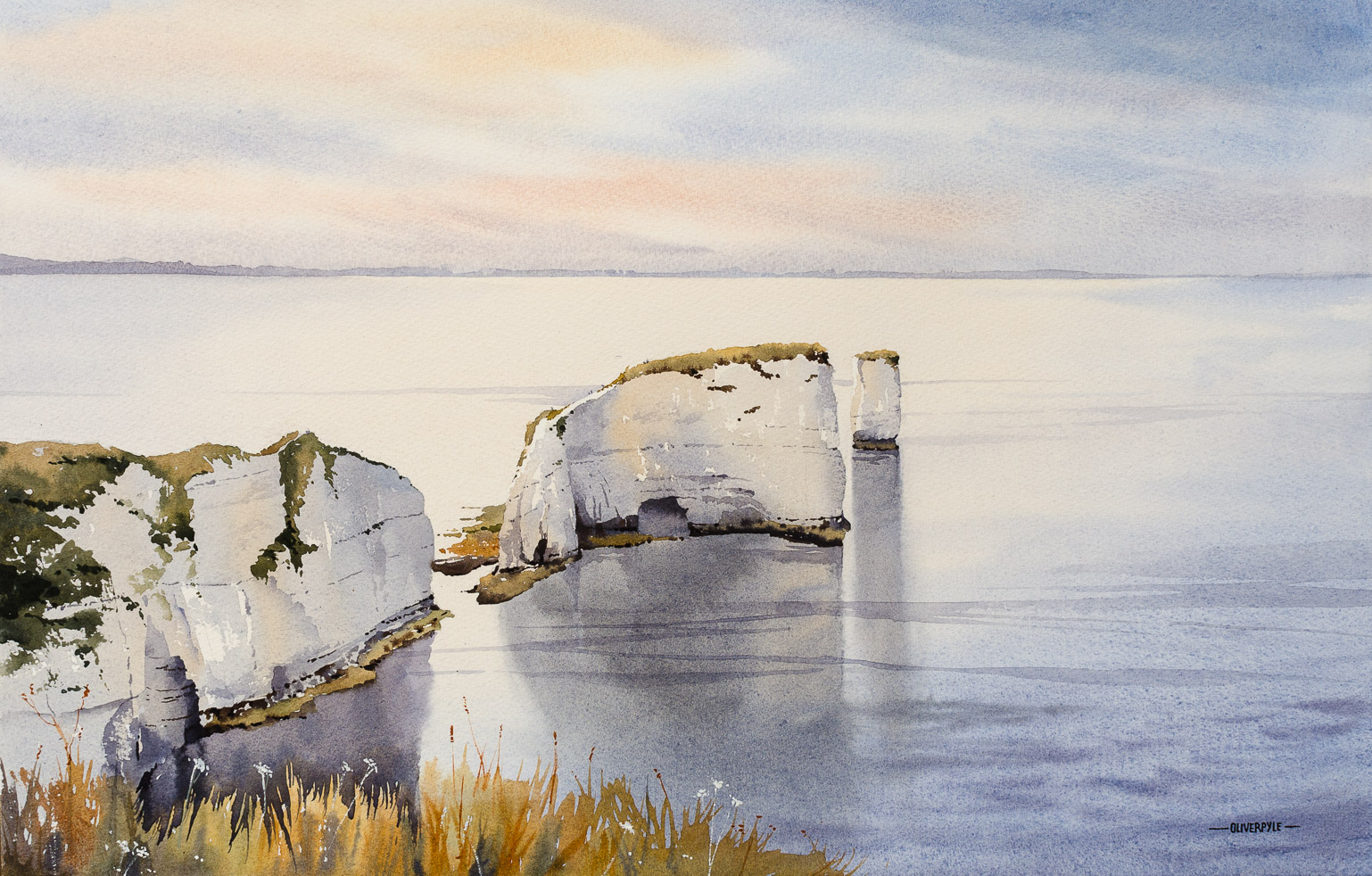 Dawn, Old Harry Rocks