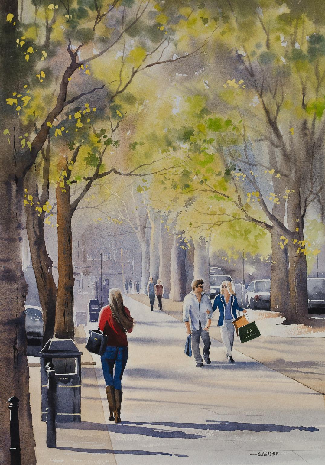 April Shoppers, The Promenade