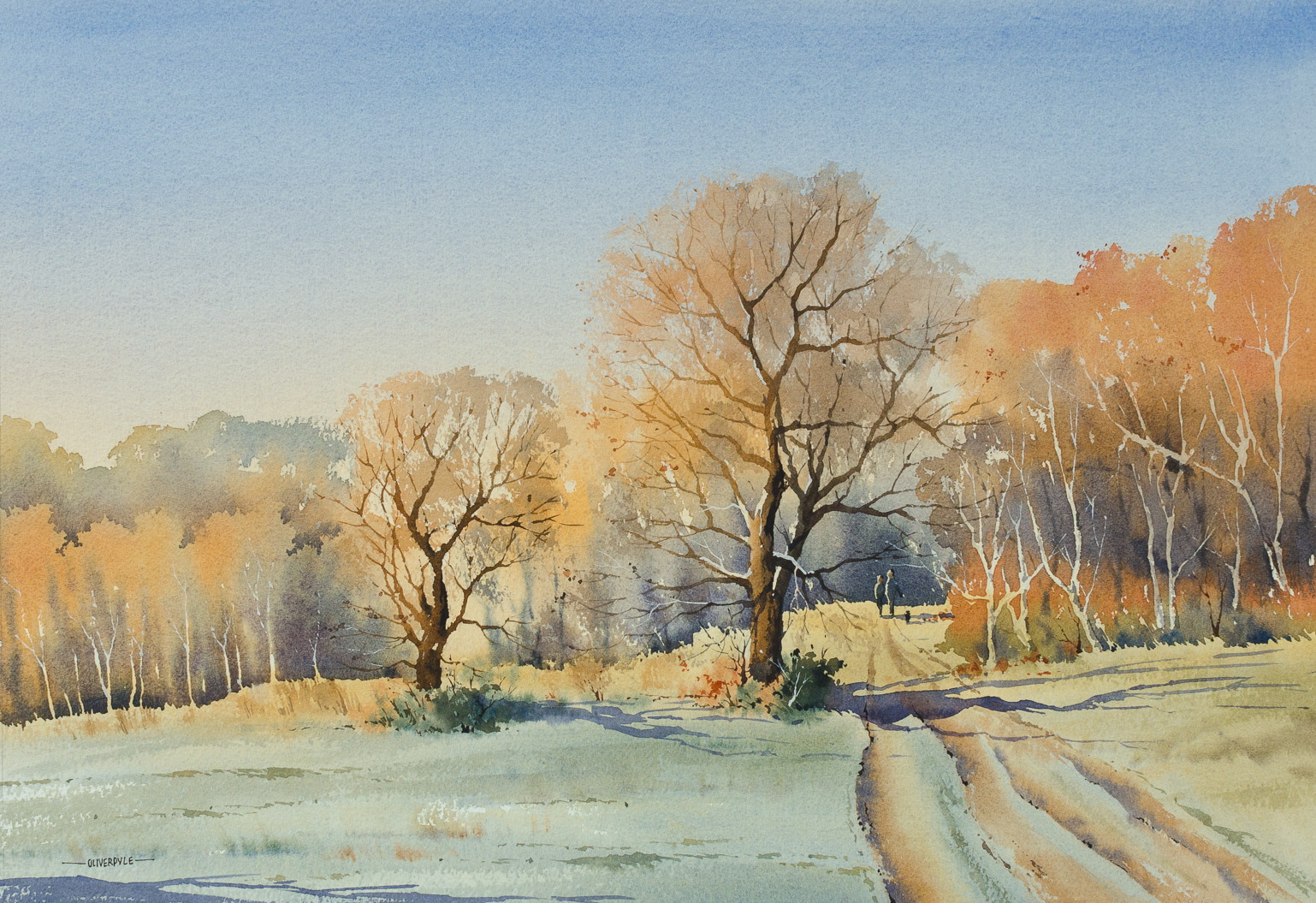 Crisp And Frosty, Ashdown Forest