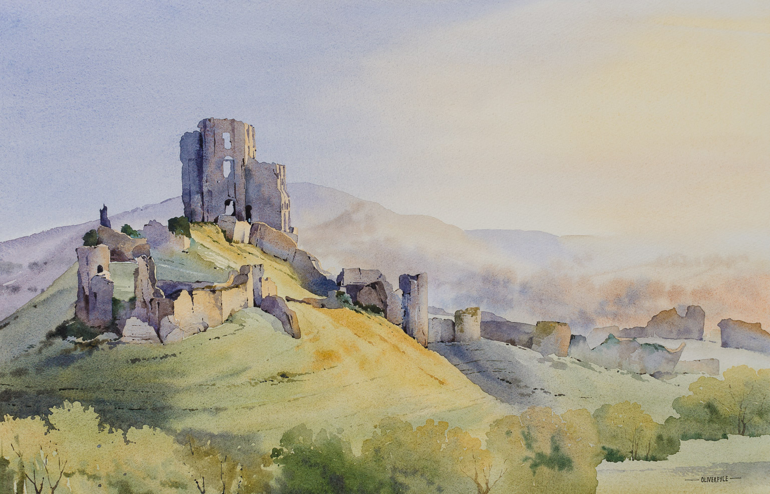A New Day, Corfe Castle