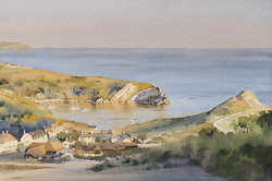 A Warm Evening, Lulworth Cove