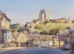 A Beautiful Start to the day, Corfe Castle