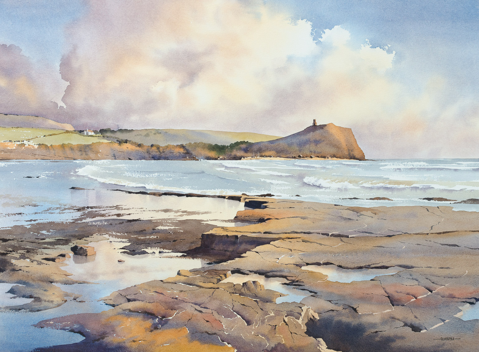 Light on the Ledges, Kimmeridge Bay