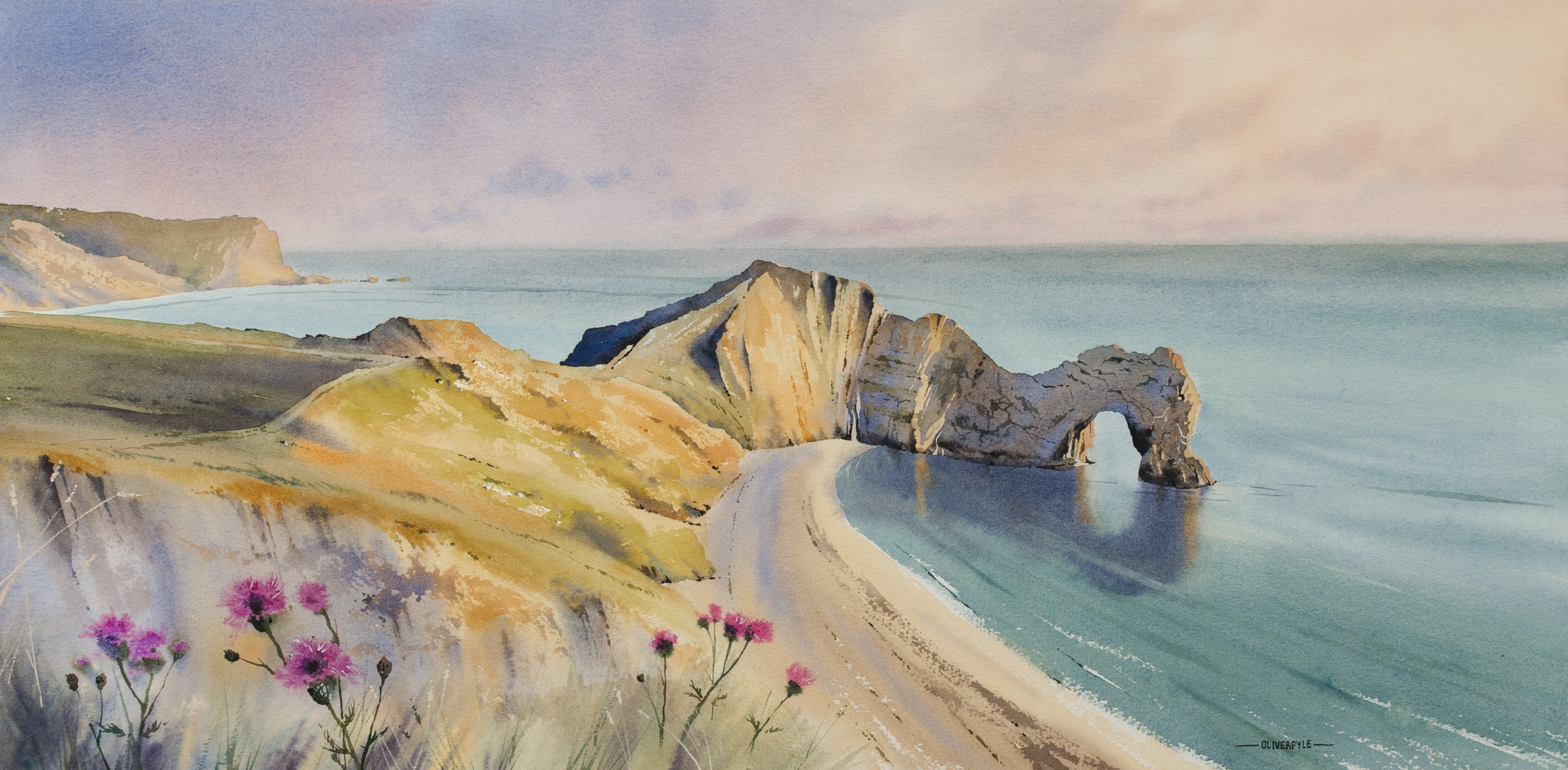 Warm Glow of Evening, Durdle Door