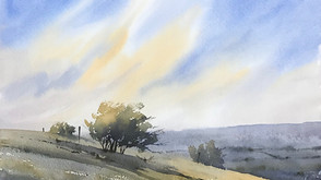 Painting the Landscape in Watercolour Video Tutorial