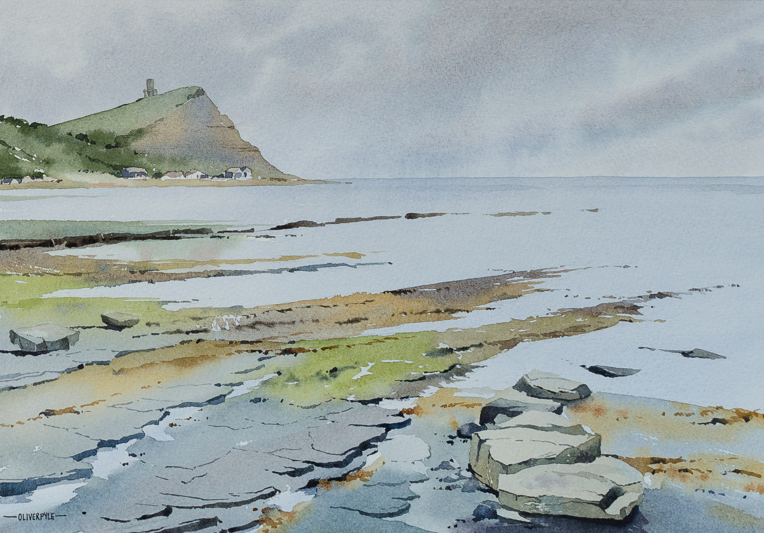 Stormy Light, Kimmeridge Bay