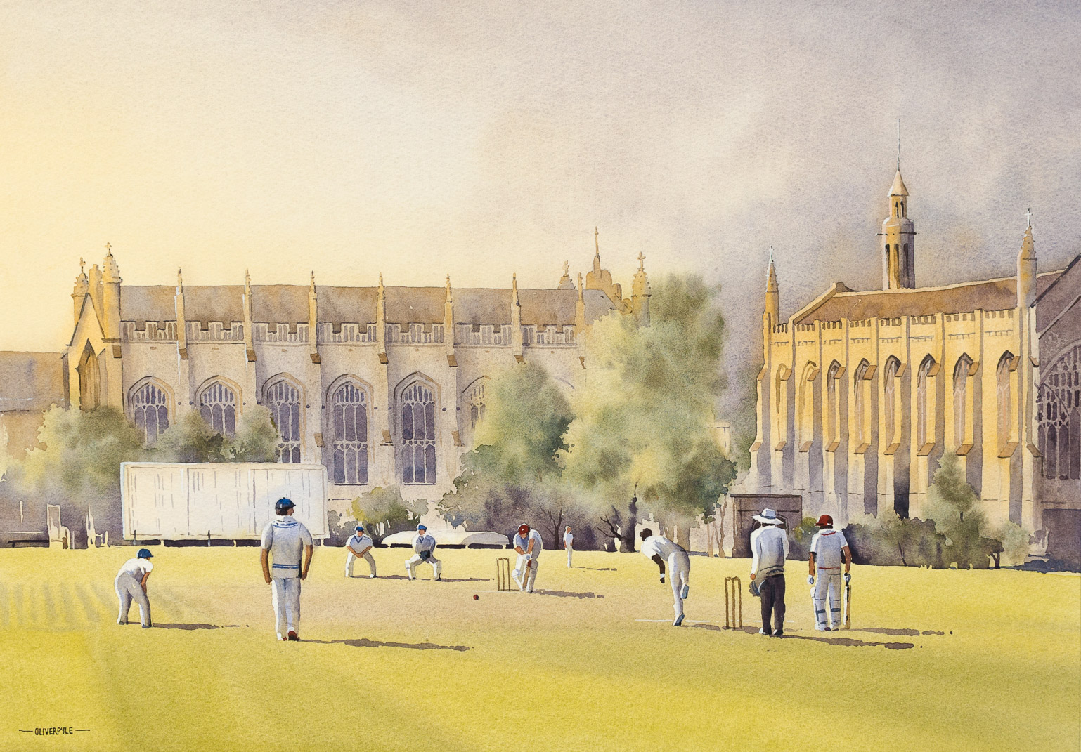 Evening Cricket, Cheltenham College