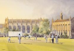 Evening Cricket, Cheltenham College