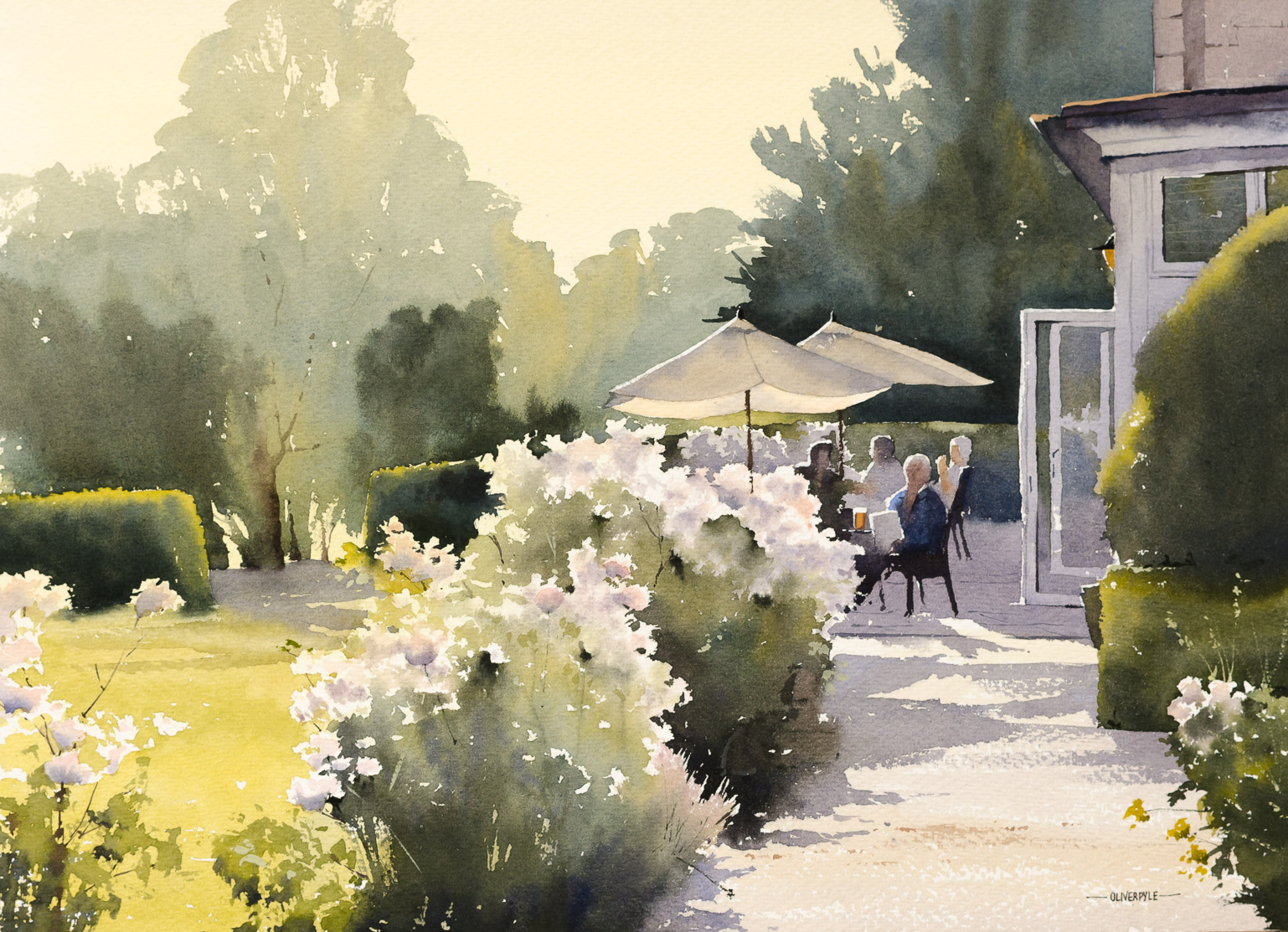 The Summer Menu, Ockenden Manor