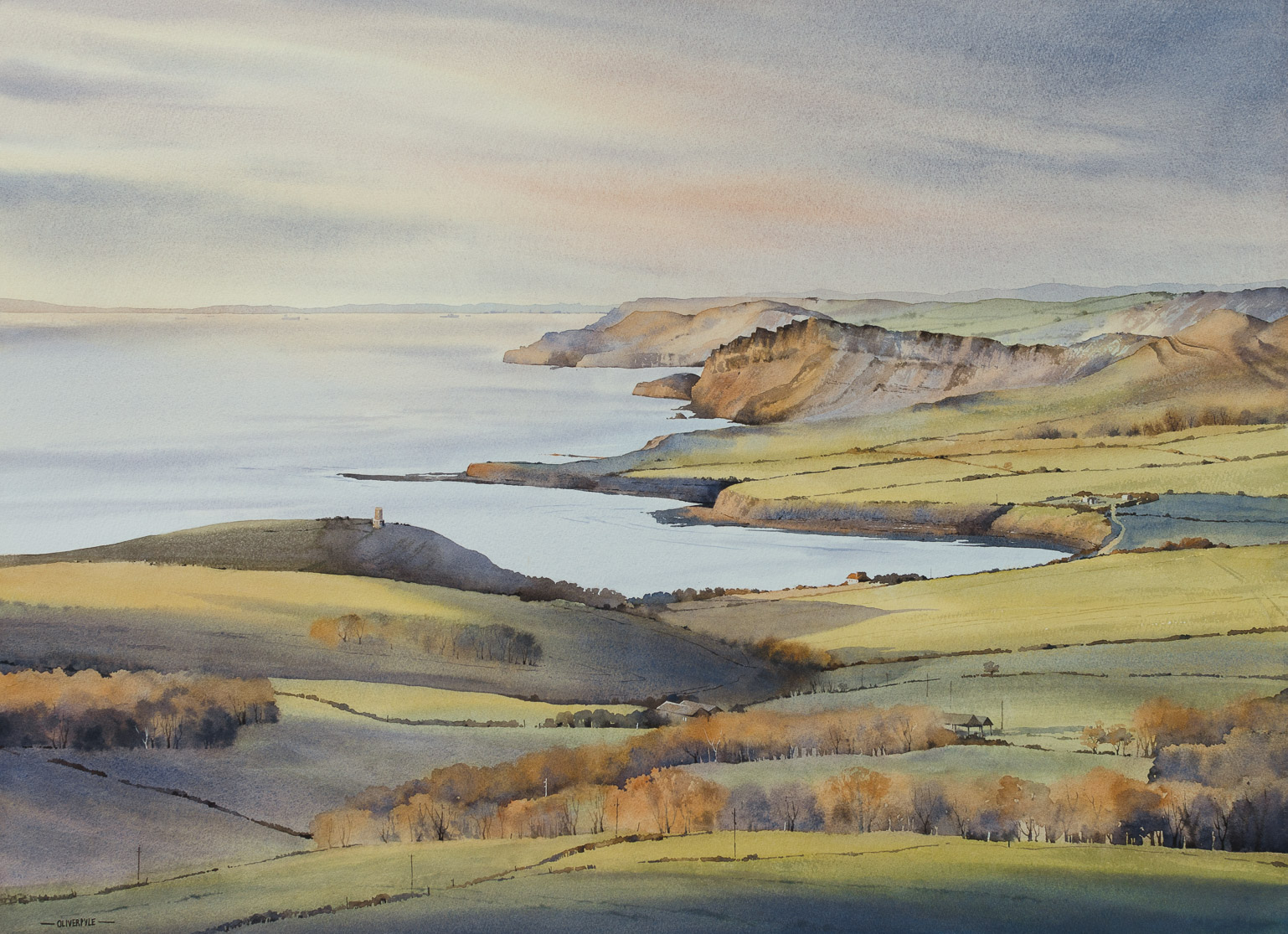 November Light, Near Kimmeridge