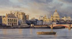 The Golden Light of Evening, London