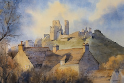Across The Rooftops, Corfe Castle