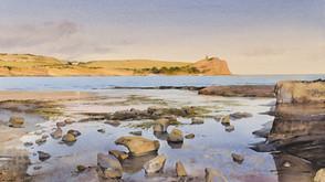 A Calm Summer's Evening, Kimmeridge Bay