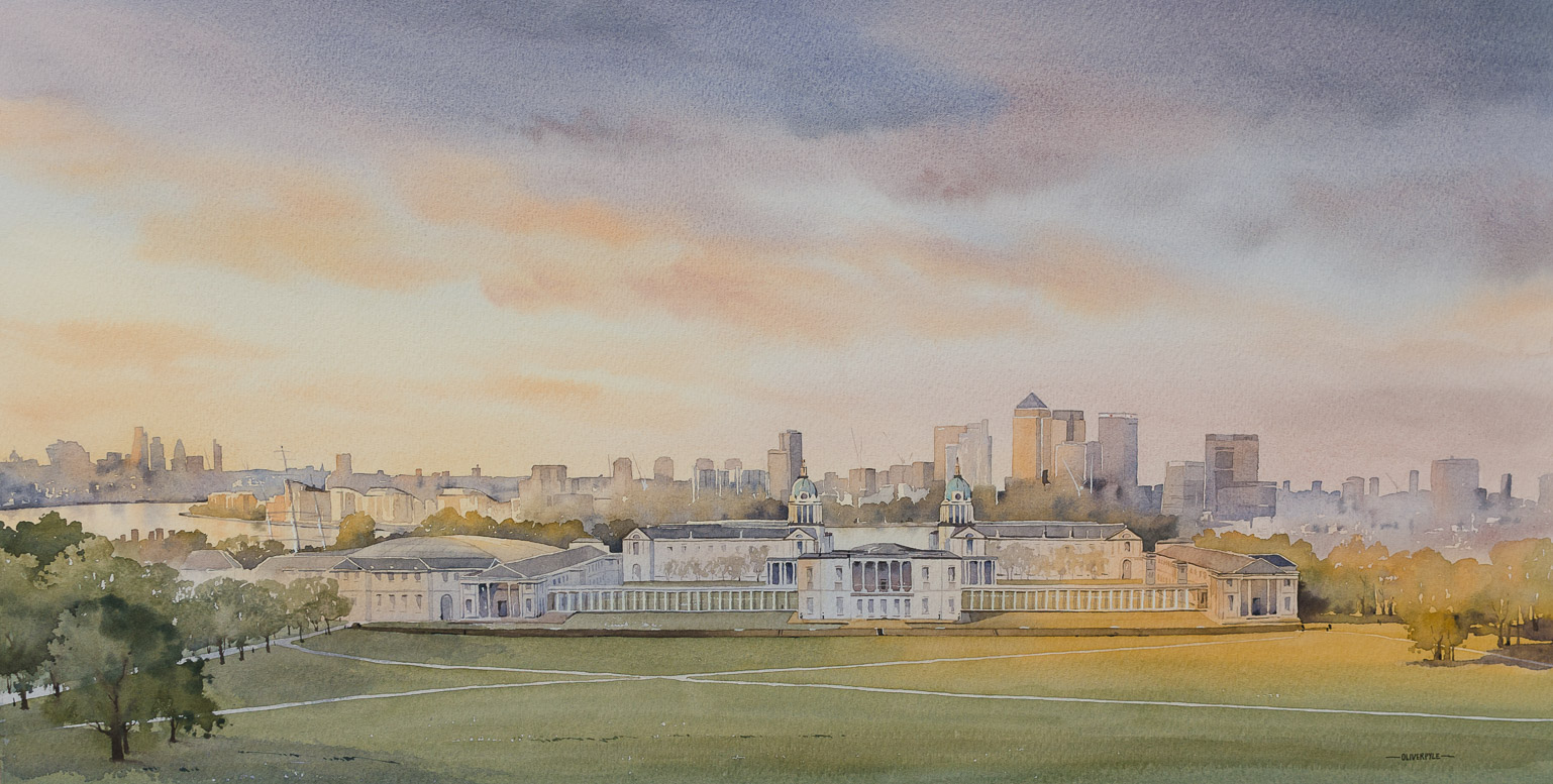 A Warm Evening, Greenwich