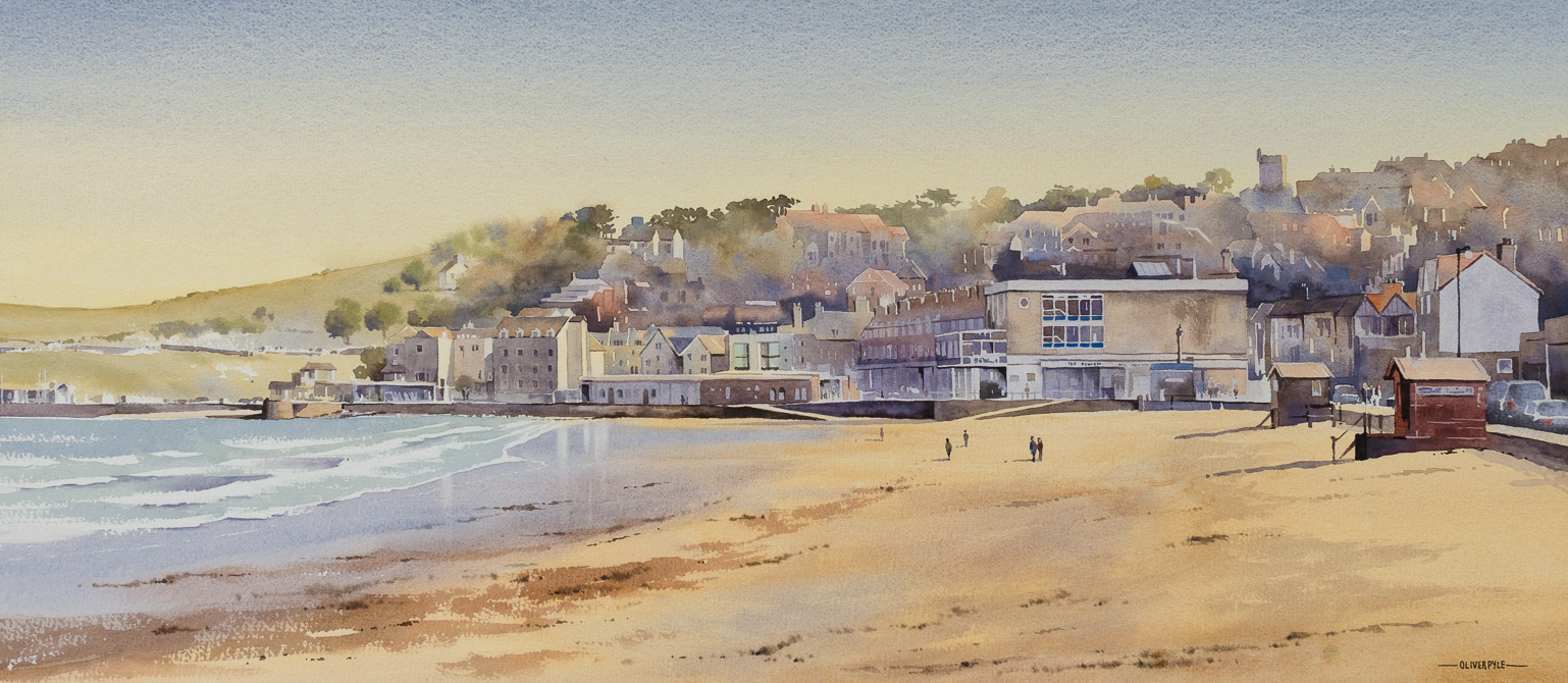 A Crisp Spring Day, Swanage