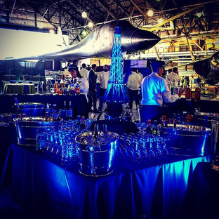 Lighting a Corporate Event at Wings Over the Rockies