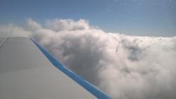 8300 ft au niveau des cummulus