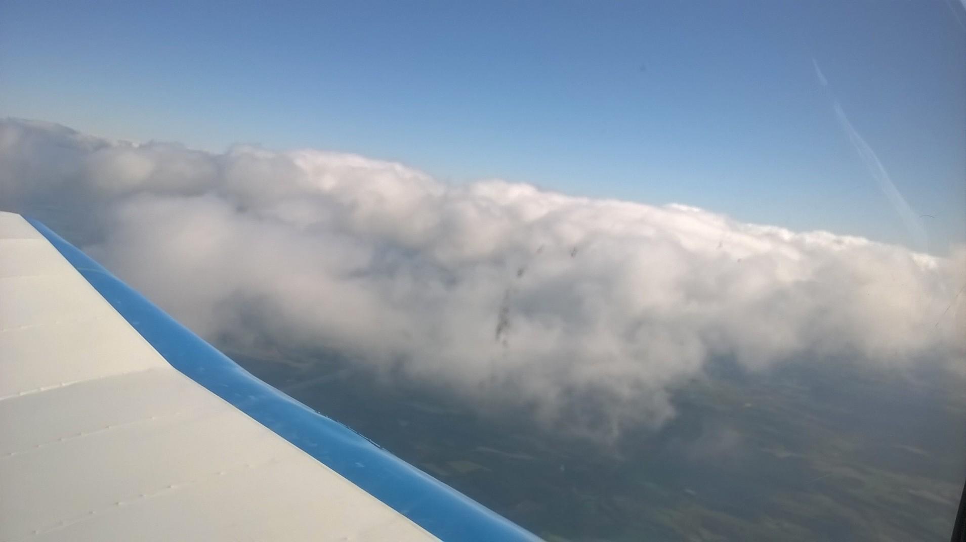 la beauté à bord de l'avion