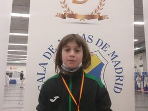 Primera medalla en competición oficial del club Tempo FC.