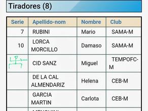 Primera participación en competición oficial del club Tempo FC.