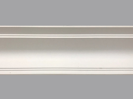 CL-A10 Art Deco Plaster Cornice.  Projection: 185mm.  Height: 130mm.