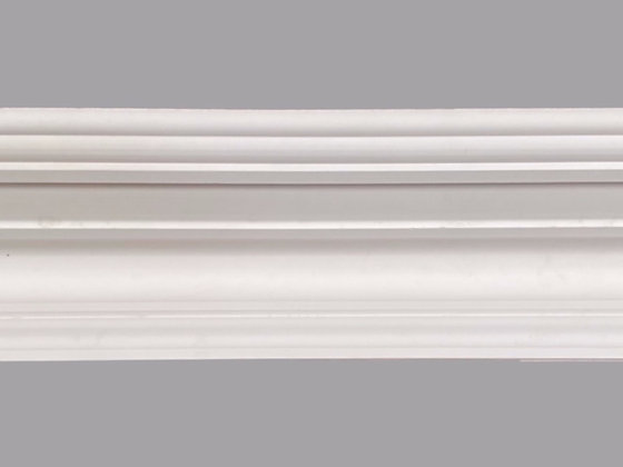 CL-V22 Victorian Plaster Cornice. Ceiling Projection: 180mm. Wall Height: 105mm.