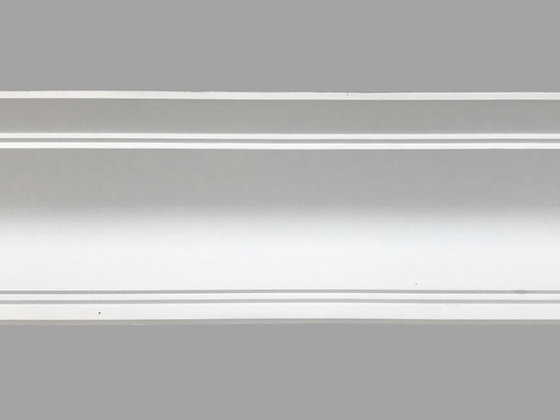 CL-A10 Art Deco Plaster Cornice. Ceiling Projection: 185mm. Wall Height: 130mm.