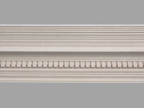 CL-E14 Edwardian Plaster Cornice.  Projection: 180mm.  Height: 195mm.