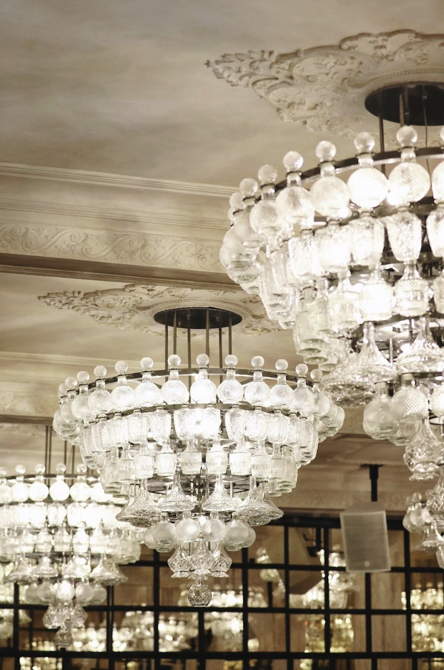 Restaurant Sucre ceiling restoration Conice London Ltd