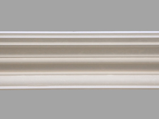 CL-E07 Edwardian Plaster Cornice. Ceiling Projection: 153mm. Wall Height: 70mm.
