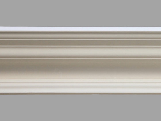 CL-V25 Victorian Plaster Cornice. Ceiling Projection: 230mm. Wall Height: 125mm.