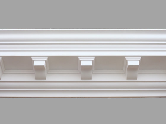 CL-CC02 Classic Plaster Cornice. Ceiling Projection: 127mm. Wall Height: 140mm.