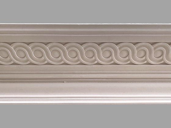 CL-CC12 Classic Plaster Cornice. Ceiling Projection: 210mm.  Wall Height: 120mm.