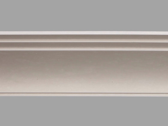 CL-A09 Art Deco Plaster Cornice. Ceiling Projection: 255mm. Wall Height: 120mm.
