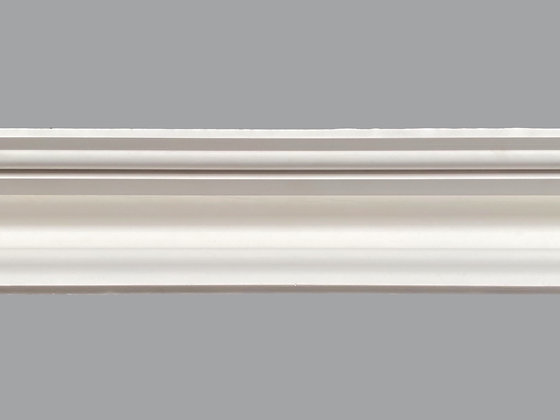 CL-V24 Victorian Plaster Cornice.  Projection: 105mm.  Depth: 85mm.