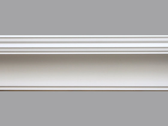 CL-R01 Regency Plaster Cornice.  Ceiling Projection: 130mm.  Wall Height: 125mm.