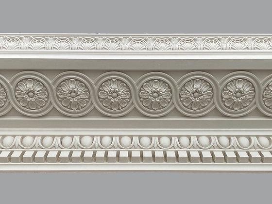 CL-RCC18 Regency/Classic Plaster Cornice. Ceiling Pro: 330mm. Wall Height: 195mm