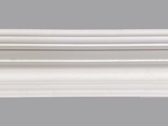 CL-V22 Victorian Plaster Cornice.  Projection: 180mm.  Height: 105mm.